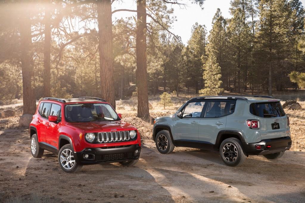 jeep renegade фото