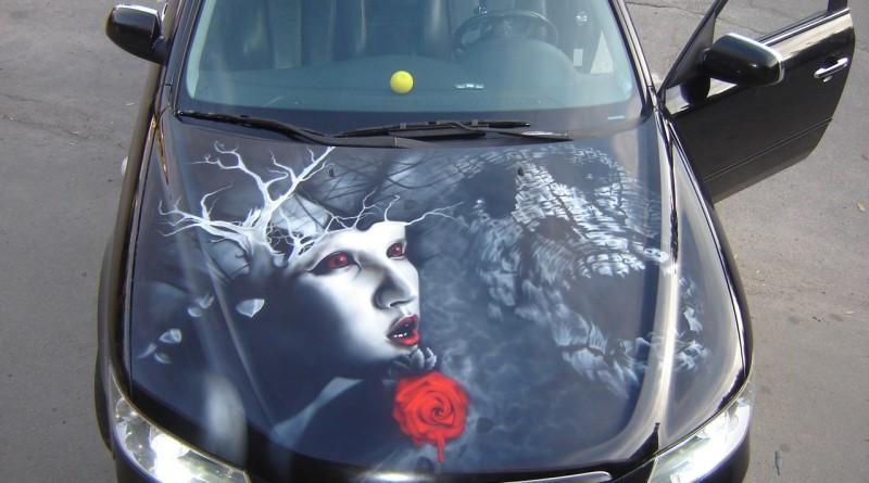 рисунки +на автомобилях аэрография фото