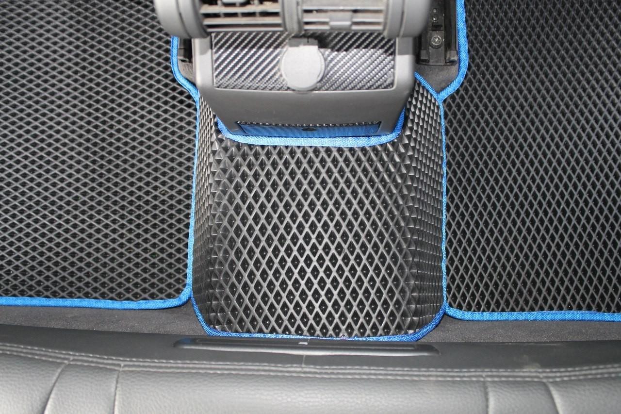 Коврик в машину своими руками