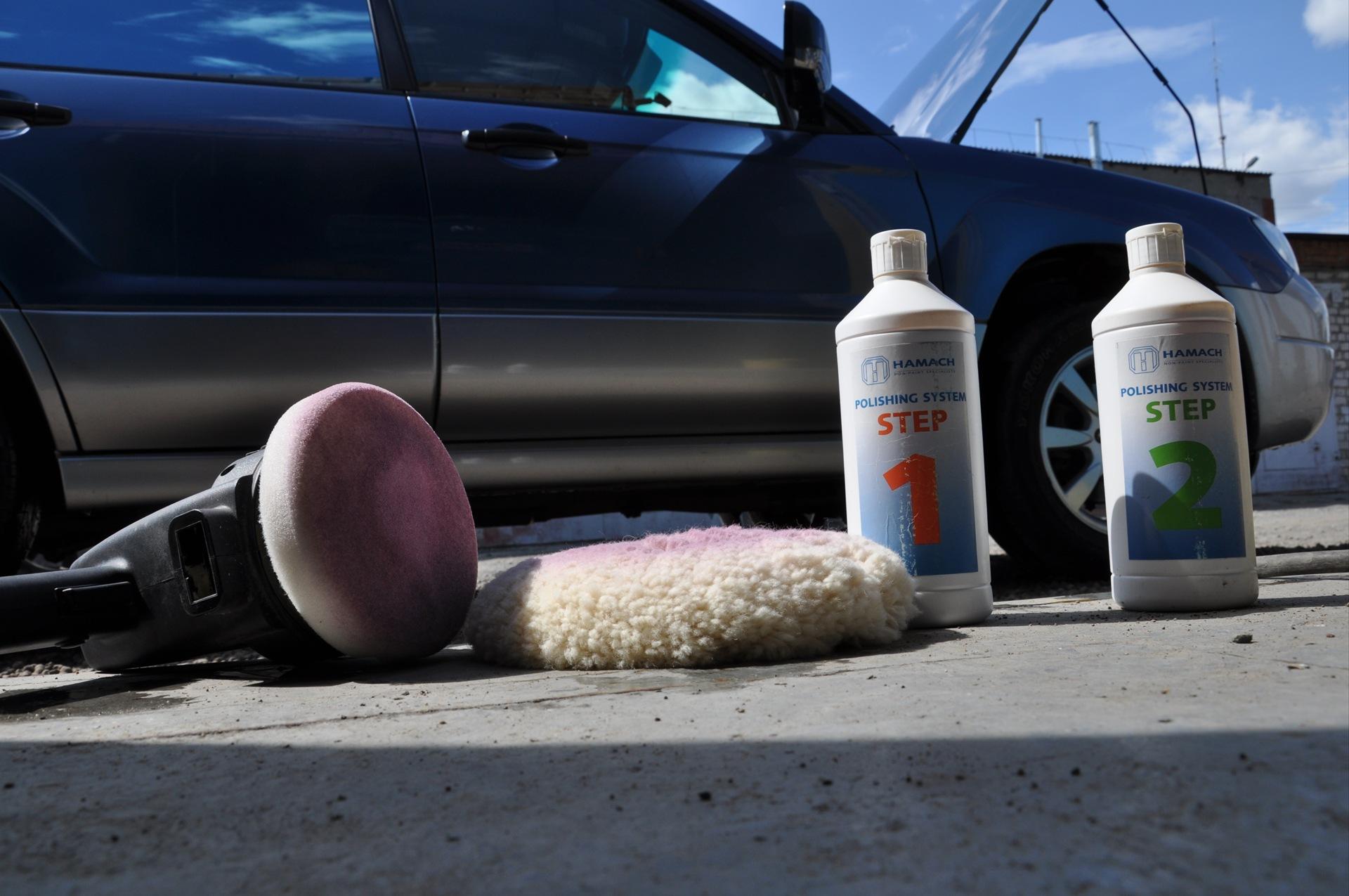 Абразивная полировка автомобиля своими руками видео
