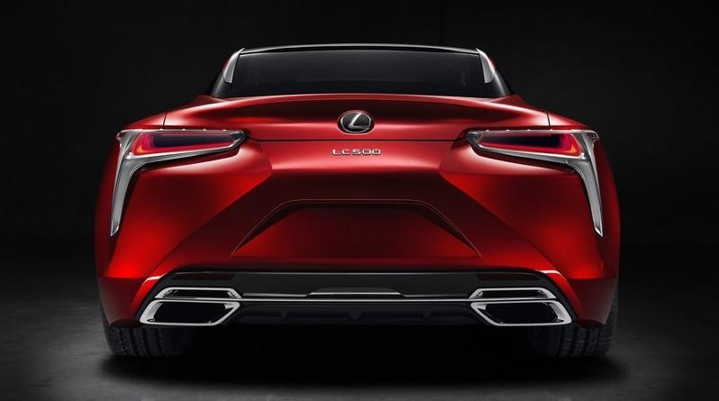 купе lexus lc 500 2017