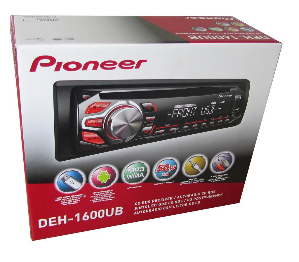 Автомагнитола Pioneer DEH-1600UB