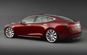 Электромобиль Tesla Model S фото