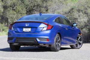 хонда цивик купе 2016 года