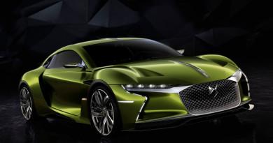 DS E-Tense — концепт электрического купе на 400 лошадей