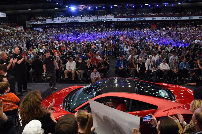 Первая Acura NSX 2017