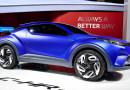 Субкомпактный кроссовер Toyota C-HR будут собирать в Турции
