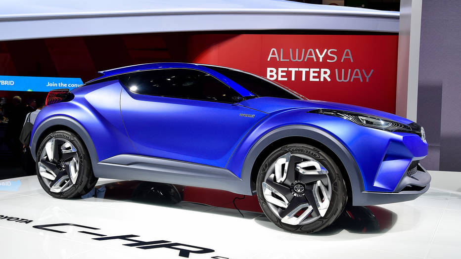 Toyota c hr for Toyota motor company profile