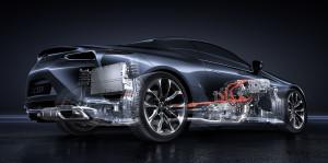 Lexus LC 500H 2017