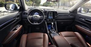 Интерьер нового Renault Koleos 2016