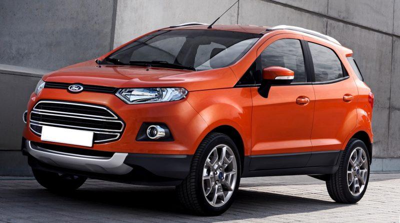 Ford Ecosport нового поколения 2016
