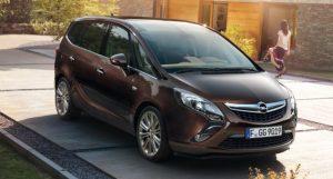семиместные автомобили - минивэн Opel Zafira Family