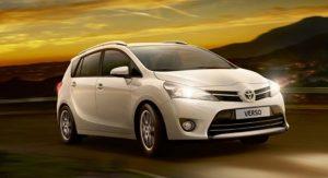 семиместные автомобили минивэн Toyota Verso