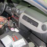 Установка сигнализации на автомобиль Renault Logan