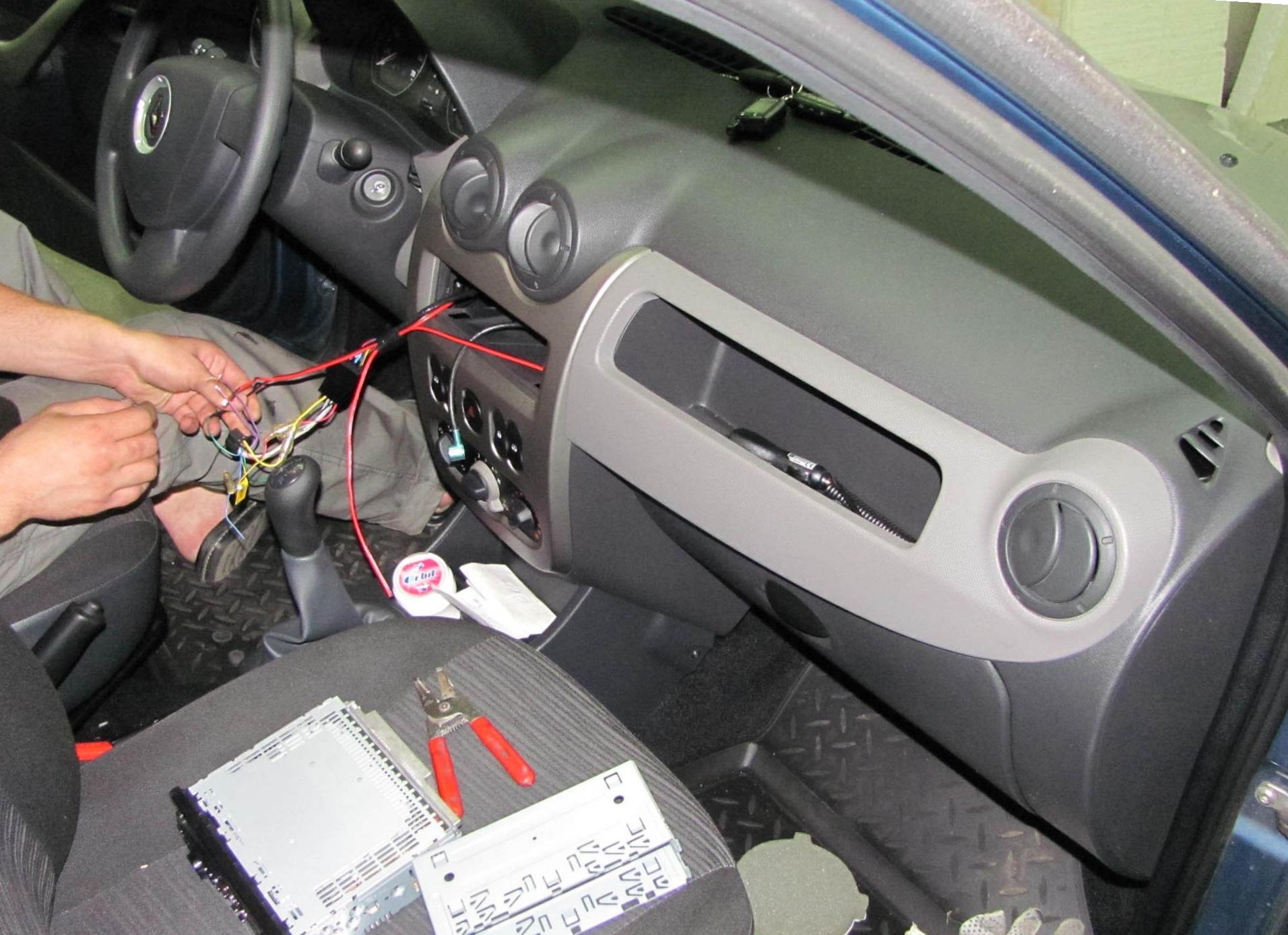 машина renault logan звуковая сигналка